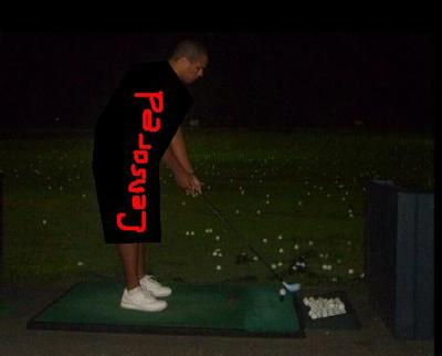 golf censored