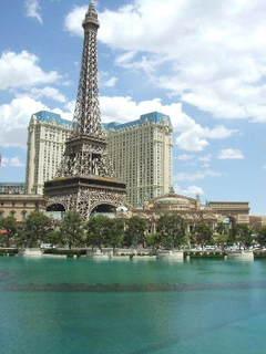Vegas Rio - Paris from Bellagio
